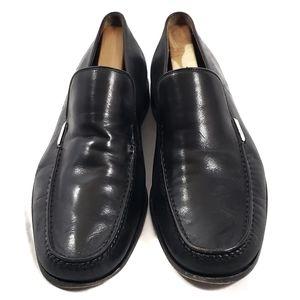Vintage Bally's Men Black Slip-On Loafer